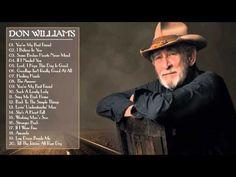 Don Williams Greatest Hits Easy Listening Music, Music Love, My Music, Best Country Music, Country Songs, Top Country, Country Music Videos, Country Music Singers, Gospel Music