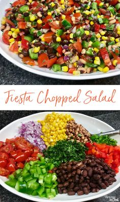 Super Healthy Cowboy Caviar This fresh, delicious and super healthy Fiesta Chopped Salad (or is it Salsa?) Can be used anytime as a light lunch, side dish, appetizer or snack.