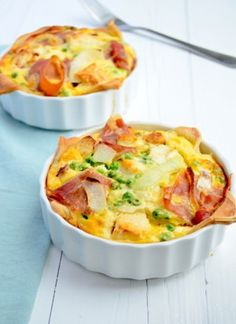 Franse mini quiche met geitenkaas