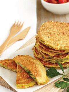 Kabak kayganasıturkish zuchini pancakes