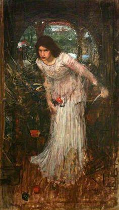 The Lady of Shalott by John William Waterhouse (1849-1917)