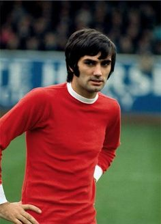 George Best. Queens Park Rangers v Manchester United. 26/10/1968