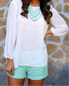 classy outfit idea for summer