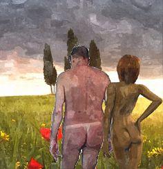 Adam und Eva in der Toscana