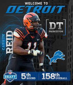 Detroit Lions Caraun Reid ELITE Jerseys