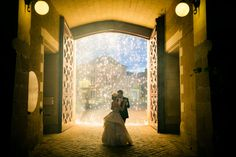 Castle wedding at the Chateau Challain with Alex & Galina. Wearing Monica's Bridal and Chanel with photography by Flavio Bandiera