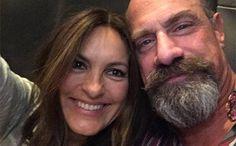 Law & Order: SVU Mariska Hargitay, Christopher Meloni reunion | EW.com