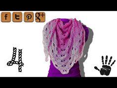 Written pattern: http://www.woolpedia.de/english/crochet-tutorials/shawl/ You will need at least 500m (better 750-1000m) 3ply yarn http://www.woolpedia.net/W...