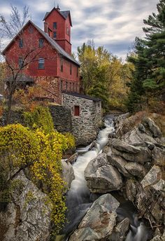 Amazing Snaps: Old Grist Mill in Jerico Vermont, USA | See more