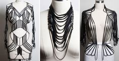 MTV Style | Trend To Try: Leather Body Harnesses