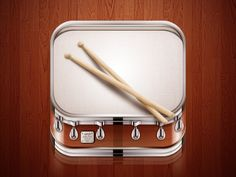 Dribbble - Drum Icon by Ampeross #app #icon #design