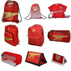 1454f60b59 Official Arsenal Football Merchandise - Wallet Gym Boot Bag Backpack
