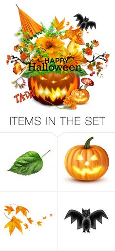 """""""happy halloween"""" by groen ❤ liked on Polyvore featuring art"""