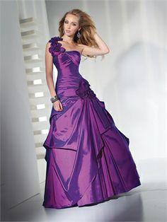 One-shoulder with flower taffeta purple Prom Dress PD10402 www.dresseshouse.co.uk $112.0000  ----Sweet 16 Dresses 2013, Sweet Sixteen Pary Dresses UK,Sweet 16 Dresses,Sweet 16 Dresses UK