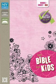 This NIV Bible for Kids will capture the attention of kids everywhere. The convenient size makes it practical, while the printed page edges make it super attractive.