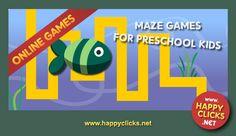 Maze games free online: Fish Maze
