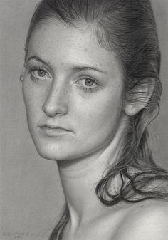 "Dirk Dzimirsky; Graphite, 2011, Drawing ""Season Change"""