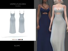 The Sims 4 Wrapped Up Long Dress