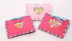 Sewn candy pouches. Find adorable Valentine's Day crafts for kids of all ages, including cards and candy bar craft. Find everything you need to celebrate Valentine's Day with kids. Parents.com