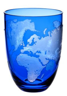 Planet Earth blue earth glass