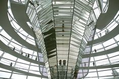 Germany. Berlin. Reichstag Dome. (Architect, Norman Foster) Germany Berlin, Norman Foster, The Fosters, Skyscraper, Multi Story Building, Europe, Travel, Viajes, Skyscrapers