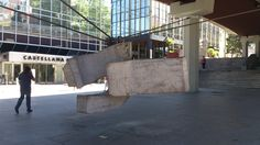 An abstract sculpture of Madrid.