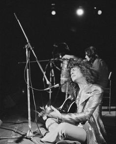 A Marc In Time...October 13th 1972 T.Rex play The WinterlandSan FranciscoCalaforina. With Gloria Jones Julia illman and Stephanie Spruill joining the band