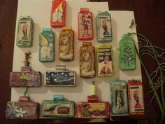 Domino pendants by prairiejen - Cards and Paper Crafts at Splitcoaststampers