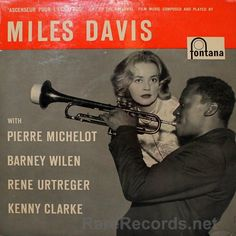 Miles Davis (Fontana; 1958)  French-only release from Miles, with guests. #albums #vinyl #records