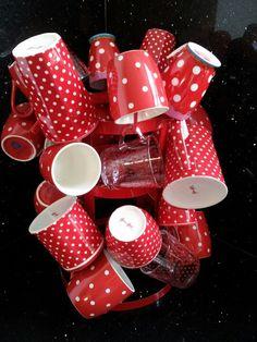 POLKA DOTS~Red mugs