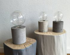 concrete lamp model hema