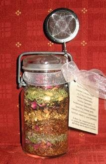 Layered Friendship Tea Blend (recipe found under Blessing) lots of good recipes and truths on this site.