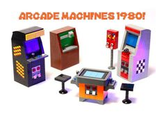 Today's LEGO Ideas Staff Pick: Vintage Arcade Games made from #LEGO  http://ow.ly/Q0Rwo