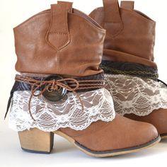 Красотища! Ботинки на весну (сухую) - самое оно.