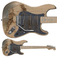 NATIVE AMERICAN series c2010 Chumash Fender Custom Shop StratOCASTER. Research DiDO:) MOST POPULAR RE-PINS from cSw - http://www.pinterest.com/claxtonw/4-5-6-strings/ - Painted ash guitar body is part of PAMELINA & Masterbuilders art show. Artwork is based on Chumash tribe, one of the largest tribes of Native Americans indigenous to California. This guitar will be built by J.W. Black from Fender Custom Shop parts. Pamelina & J.W. have worked together since early 90's at Fender's Custom Shop.