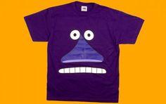 Buka (The Groke) from Moomins. Cool tee by Modern-Retro. #tshirt #moomins