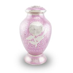 Blushing Rose Cremation Urn - Large