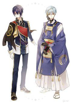 Touken ranbu costume switch
