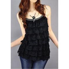 Cheap lace shirt, Buy Quality female shirts directly from China women blouses Suppliers: Tops Sexy Cake Lace Shirt 2017 Fashion Women's Blouses Vest Top Feminina Summer Blusas Femininas Fitness Female Shirt Layering Tank Tops, Lace Crop Tops, Bling Bling, Lace Vest, Lace Camisole, Blouses For Women, Women's Blouses, Floral, Ideias Fashion