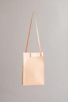 NATURAL RIFT TAB BAG | CHIYOME - Minimalist Handbags