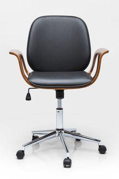 KARE Design :: Krzesło biurowe Patron Walnut