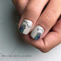 Nail Shapes - My Cool Nail Designs Edge Nails, Clear Nail Designs, Diy Nail Designs, Hair And Nails, My Nails, Flare Nails, Short Nail Manicure, Watermelon Nails, Acrylic Nail Shapes