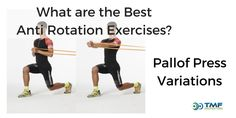 Are you in control of your swing? If not then anti rotation exercises such as the Pallof Press will help you finish your swing with more control & power.