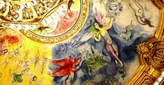 Opéra Garnier in Paris filmed by a drone. Focusing on the dome painted by Marc Chagall. Watch the video;-)