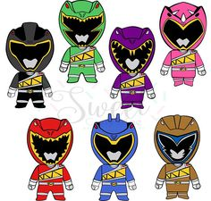 Dino Power / Inspired Rangers / Cut File / Cameo Projects /