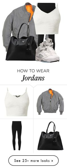 """Space Grey"" by nae-nae22 on Polyvore featuring T By Alexander Wang, Prada and Retrò"