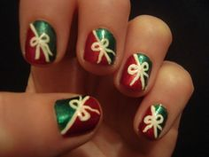 christmas nails   Christmas Nails by Randomrandi on deviantART