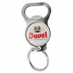 Duvel Keychain Bottle Opener by Duvel Moortgat. $7.95 Bottle Opener Keychain, Wine Time, Home Kitchens, Kitchen Dining, My Favorite Things, Image Link, Note, Amazon, Accessories