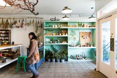 Our Kinfolk Natural Home and Holiday Decor Workshop in San Francisco at Studio Choo