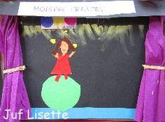 kern 8: voorstelling   Link naar bv ideeen alle kernen. Big Top Circus, Theater, Circus Theme, Classroom Design, Art School, Musicals, Kindergarten, The Unit, Crafts